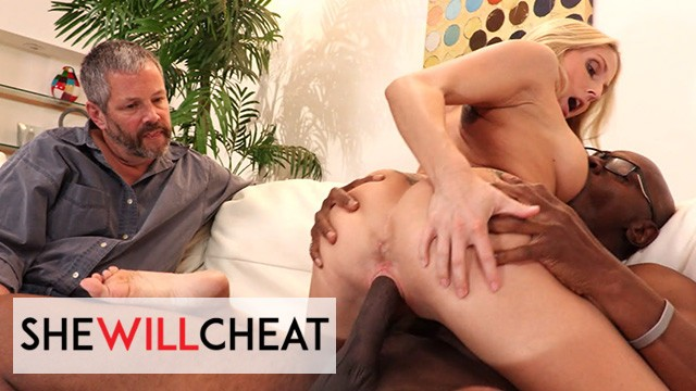 She Will Cheat - Hot Blonde Milf Christie Stevens Gets Fucked By Her Hot Black Cock