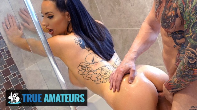True amateur - Sexy Big Tits Babe Jess Has Her Pussy Filled With Warm Cum