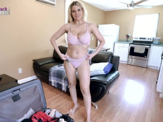 Horny Step Mom Begs for a Creampie - Brooklyn Chase