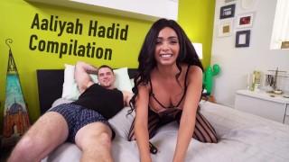 bangbros – the aaliyah hadid compilation: watch now! – teen porn