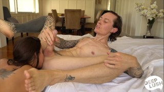 Deep Creampie Sex Tape with Gia DiMarco and Owen Gray