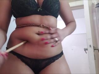 Erotic belly torture is pleasure (Short version)