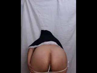 Nun dancing striptease