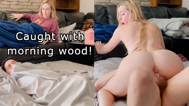 Abbie Cat Spreads Those Shaved Pussy Lips