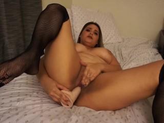 Teen Blonde School Girl fucks herself til she cums