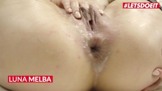 LETSDOEIT - HOT! CREAMPIE COMPILATION WITH NAMES - Teen Babes Getting Their Pussy Filled With CUM