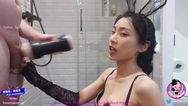 [June Liu] หนังโป้ออนไลน์ SpicyGum ฉายานี้ไม่ได้มาเล่นๆ เผ็ดสมชื่อเพราะเด็ดทุกลีลาเย็ด อมควยผู้ชายหลังชักว่าวด้วยtenga นวดควยเสร็จค่อยเย็ดกันต่อ