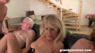 Perverted Oldies Orgy part 2