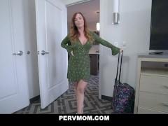 Son Fucks Her Webcam Star Redhead Stepmom
