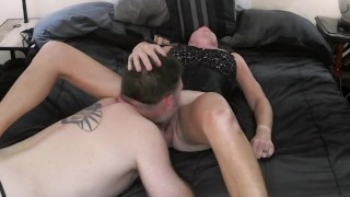 Cunnilingus - Back Arching Orgasm from Pussy Clit Licking and Sucking making her CUM!