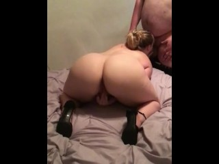 Clit rubbing blowjob in heels preview