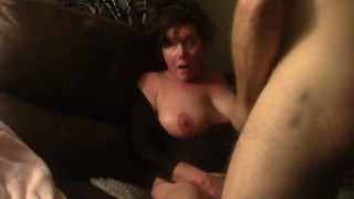 NYMPHO WIFE'S HARD SLOW MOTION CONVULSING EYE ROLLING SCREAMING MULTIPLE ORGASMS