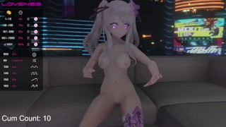 Getting fucked while in VR