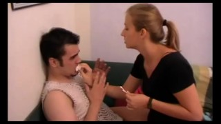 richie get humiliated with snot and bogger by melady