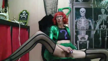 On the 27th Day of Halloween Willamina is The Riddler