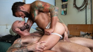 Werewolf Daddy Trains Pup With Raw Dick   Timberwolves 2 Full Scene   RagingStallion