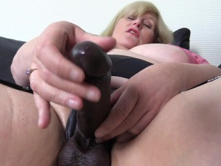 Horny Stepmom wants you to take her secret Strap on