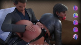 CURVY COUGARS STREET V0.9 - SEX ON THE SHOP WITH ELKE AND DOMINATING LINA (1/3)