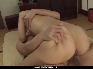 Yui Oba loves it when her man humps her from behind – More at 69avs com