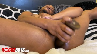 Jaxsone RIley Put Some Work In On His Hole with His Dildo