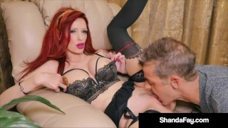 Canadian Cougar Shanda Fay Gets Her Tight Pussy Fucked Solid