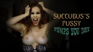 SUCCUBUS'S PUSSY PUMPS YOU DRY - PREVIEW - ImMeganLive