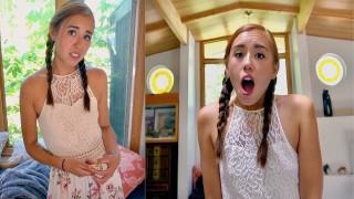 naughty babysitter caught red-handed ;) – teen porn