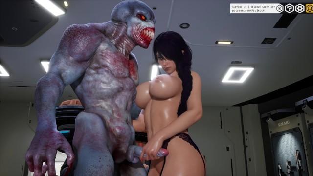 3d Anime Hentai Monster