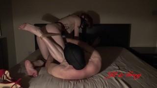 Romantic bondage sex at night - 1 - Short Version