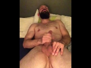 Nut every night November #2 woke up from nap horny, moaning and jerking off