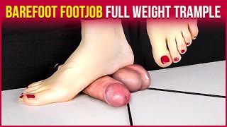 Extreme Footjob - Barefoot Domination | Era