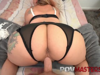 Big Tits MILF Joclyn Stone Talks Dirty While Taking Big Cock POV Sex