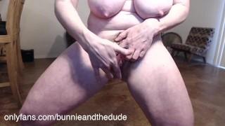 Bunnie Masturbating Squirting Orgasm Solo