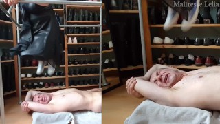 Hard trampling in converse (video requested)
