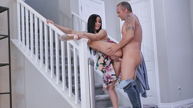 Busty Russian Milf Gets Pounded