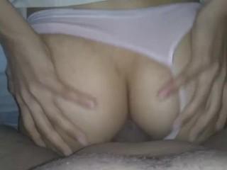 Se corre su hilo y le doy por el culo,  rico sexo anal casero, especial 1K Suscriptores| HotCoupleDJ