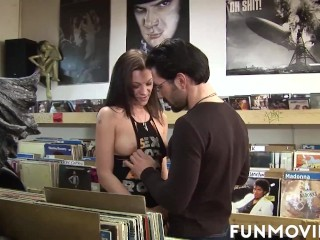 Erotic brunette getting anally fucked tub x porn