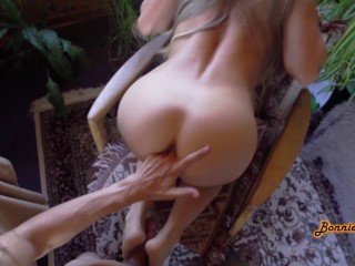 She Wanted To Tease Him With Her Pussy But Couldn't Resist His Cock