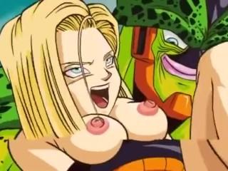 Dragon Ball - Android 18 And Seru Sex Scene