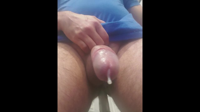 In your face epic prostate orgasm after many days of edging handfree!