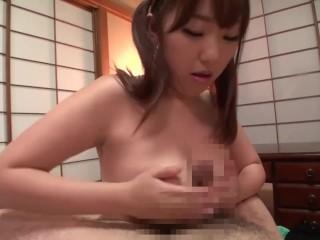 Taboo Japanese BBW blowjob and titjob old