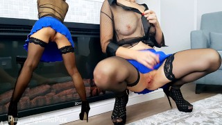 GORGEOUS SCHOOLGIRL IN AN EXCELLENT SKIRT GETS AN ORGASM FROM HER MAGIC FINGERS! ANGELINAPUX FREE 4K