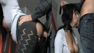 18 year old fucked in the ass at School | Outdoor - Submissive Deepthroat - Anal - Cum Swallow