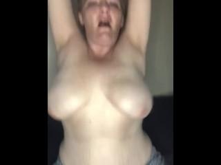 Big bouncing tits. So horny. Let me ride you