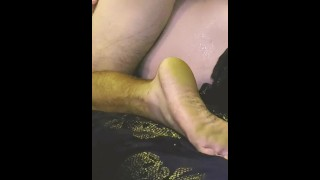 Gushing pussy gets fucked with huge cock fast and hard long dicking she needed to get worked over