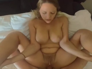 She Begs for More Cum & Gets 2 Big Loads Trying Get Pregnant