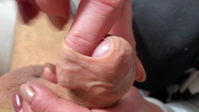 Cum foreskin Foreskin cum
