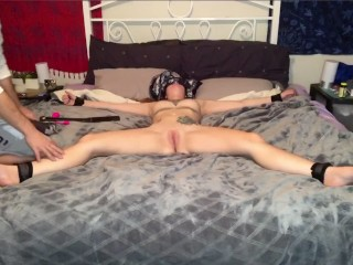 PLEASE CAN I CUM?!? Teasing girlfriend leads to uncontrollable orgasms.