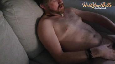 Very Horny Guy Jerking Off