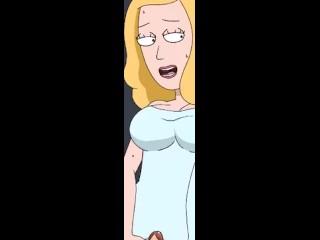 Morty summer and porn rick Rick and